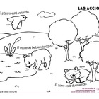 Coloring Page: Actions: Butterfly