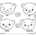 Coloring Page: Feelings: Bears