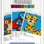 Coloring Squared: Color by Number
