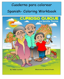 Scientific Method Curioso Quique Spanish Coloring Story Wo