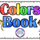 Colors Book or Center Activity