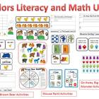 Colors Literacy and Math Unit