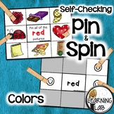 Colors Recognition - A Pin & Spin Activity