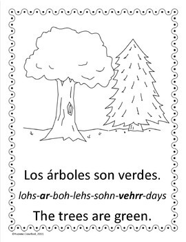 Colors in Spanish - vocab. sheets, worksheets, memory & bi