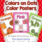 Colors on Dots - Color Word Posters