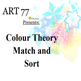 Colour Theory Match and Sort Game