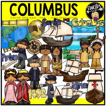 Columbus Clip Art Bundle