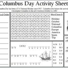 Columbus Day Activity Sheet