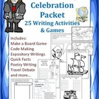 Columbus Day Celebration: Writing Activities and Games to
