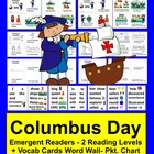 Columbus Day Mini Books - 2 Reading Levels - 3 Versions of Each