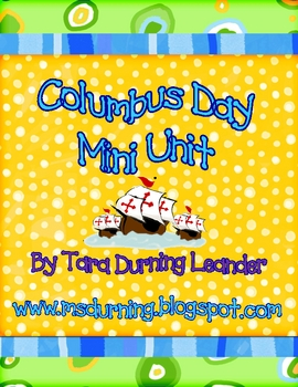 Columbus Day Mini Unit