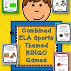 Literacy Sports Themed BINGO Games: Bundled Set