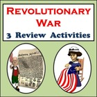 Revolutionary War Bundle: Three Revolutionary War Review A