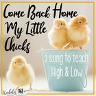Come Back Home My Little Chicks: Kodaly slides for prepari
