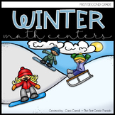 Come in from the Cold!  11 Math Tub Activities for Winter
