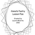 Comets Reading Response & Poetry Lesson Plan