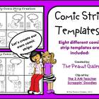 Comic Creations (Comic Strip Template Set)