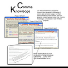 Comma Knowledge Practice Software Lesson Plan