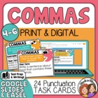 Comma Task Cards: 24 cards for applying different comma rules.