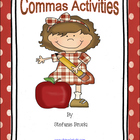 Commas Activities