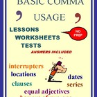 Commas: Lessons for Basic Comma Usage Rules