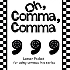 Commas in a Series Activities