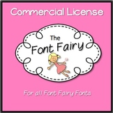 Commercial License - 'Font Fairy' Fonts