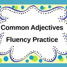 Common Adjectives Fluency Practice PowerPoint
