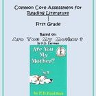 Common Core 1st Grade Reading Assessment - Literature Text