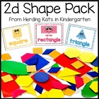 Common Core 2D Shapes Packet