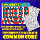 Common Core 3rd Grade-Bingo Blast! Time to the Minute Inte