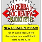 Common Core Algebra 1/Integrated 1 Practice Test #3