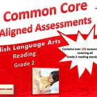 Common Core Aligned Assessment Bank ELA - Reading Grade 2