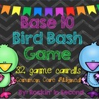 Common Core Aligned Base 10 Bird Bash Game