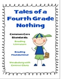 {Common Core Aligned Book Unit} Tales of a Fourth Grade Nothing
