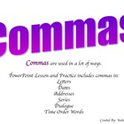 Common Core Aligned Commas Commas Commas