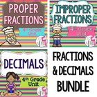 Common Core Aligned Fractions and Decimals Bundle