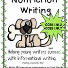 Common Core Aligned Nonfiction Writing ~ Creating a Nonfic