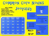 Common Core Aligned Nouns TV Trivia Game-Plural, Abstract,