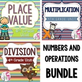 Common Core Aligned Numbers and Operations Bundle