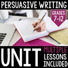 Common Core Aligned Persuasive Writing and Propaganda Unit!