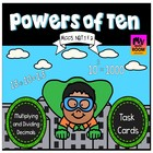 Common Core: Powers of Ten Task Cards