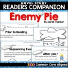 Common Core Aligned Reader's Companion for the Book: Enemy