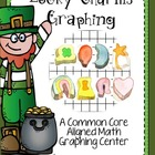 Common Core Aligned St. Patricks Day Lucky Charms Graphing
