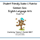 Common Core Aligned Student Friendly Scale and Rubric for