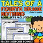 Tales of a 4th Grade Nothing Reader's Response Booklet - C
