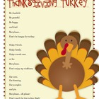 Common Core Aligned Thanksgiving Poem Set- Inference, Ques