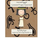 Common Core Ancient Egypt Common/Proper Noun Sort Freebie