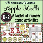 Common Core: Apple Math, A Bushel of Number Sense Activities