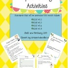April Writing Activities
